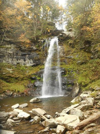 Elka Park, NY: Waterfall in the Clove