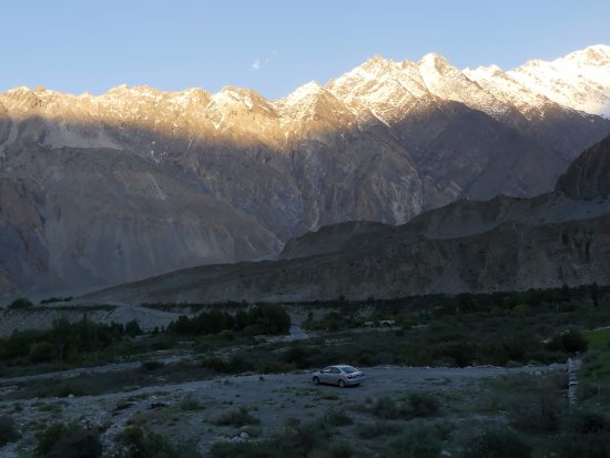 Sunset, Karakoram Mountains Upper Hunza, Passu Village