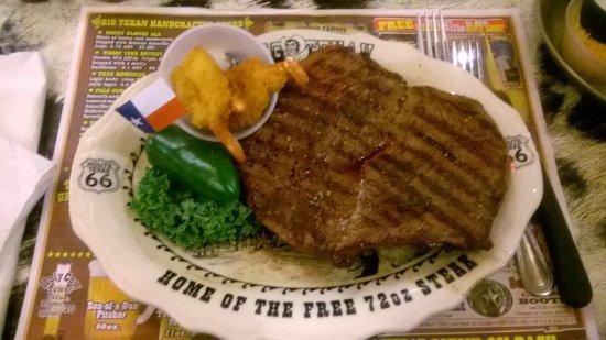 big texan steak ranch man vs food menu