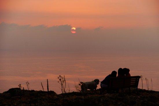 Sun going down over Dingli Cliffs