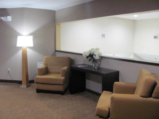 Sleep Inn: 2nd Floor right near the meeting room