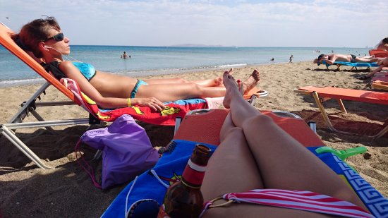 MariRena Hotel: пляж Амудара
