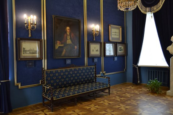 Синяя комната 2 - Изображение Богородицкий дворец-музей и парк, Богородицк  - Tripadvisor
