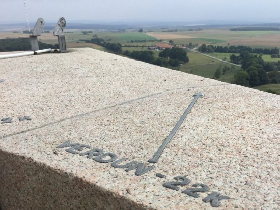 Montfaucon d'Argonne, France : View from one of the tower balconies