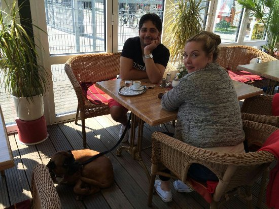 Travemuende, Alemania: Restaurant Seebar