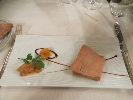 Tamnies, Frankrig: Foie gras de canard mi cuit
