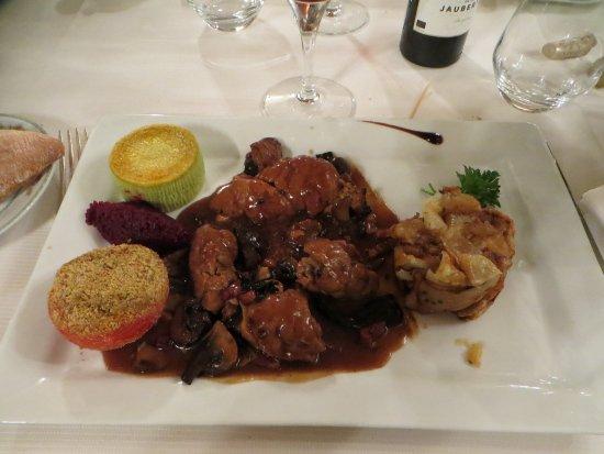 Tamnies, Frankrig: Ris de veau sauce financière