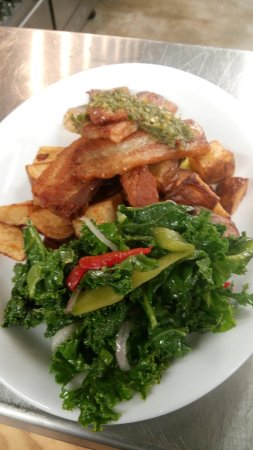 Whiteville, Carolina del Norte: Locally sourced and fresh, quality ingredients