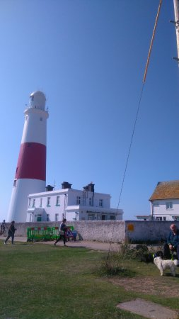 Isle of Portland, UK: View from public seats