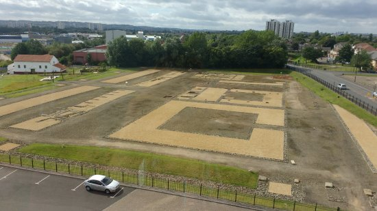 Wallsend, UK: View of the site from the tower