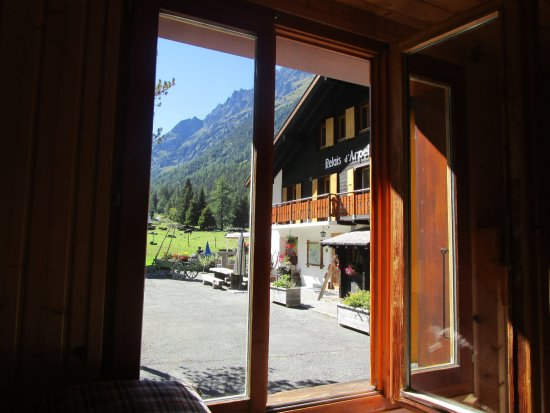 Champex, Svizzera: View from dorms