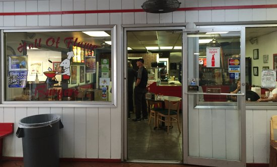 Hall of Flame Burgers: Store Front