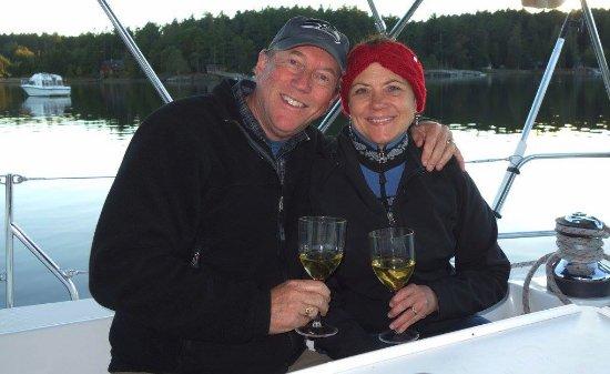 Bellingham, WA: It's Wine O' Clock somewhere on the San Juan Islands