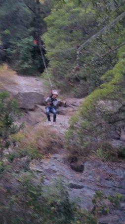 Hazyview, Sudáfrica: Mooie afdaling