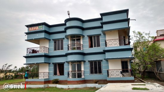 Mandarmani, India: Hotel Front