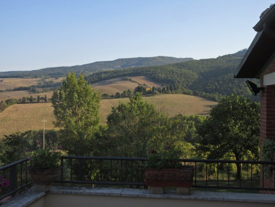 Agriturismo Esperia: View from the studio balcony