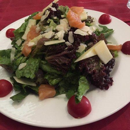 Shashlyk-Mashlyk: Salat nach italienischer Art