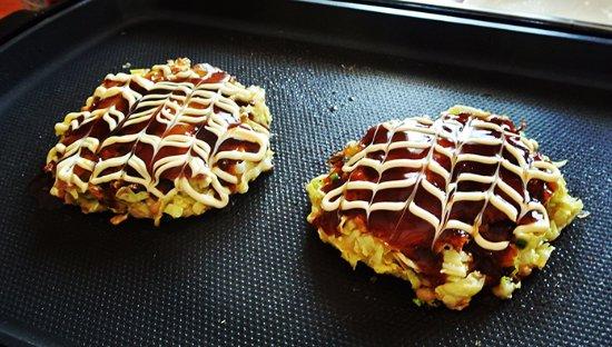 Nara Cooking Class Hanezu: Learned how to make home made Okonomiyaki!