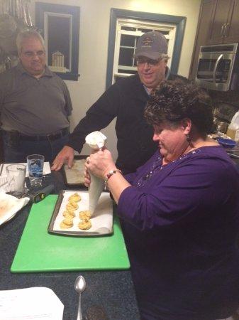 North Providence, RI: Making Zepoles!