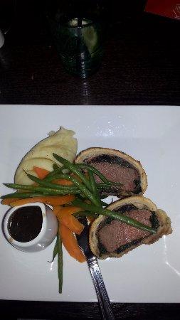Stowmarket, UK: Beef Wellington