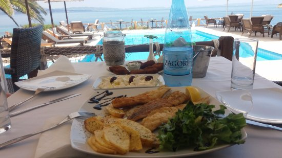 Barbagiannis House: Best meals we had while in Ormos Panagias