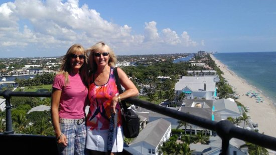 Hillsboro Beach, FL: Beautiful day for a lighthouse climb!