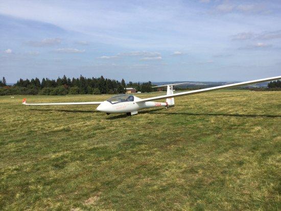 Gersfeld, Jerman: Zweefvliegtuig