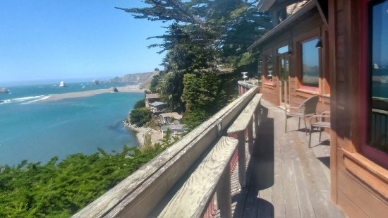 Jenner, CA: Deck views