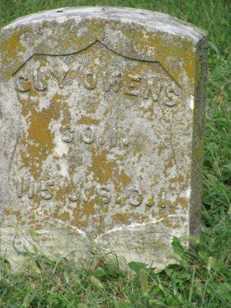 Frankfort, KY: USCT grave marker Guy Owens