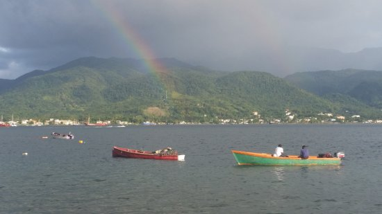 Roseau, Dominica: Arc-en-ciel