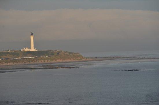Lossiemouth, UK: ein schöner Morgen - Blick aus dem Zimmer