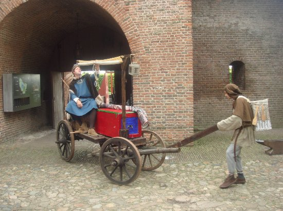 Muiden, Países Baixos: grappige oude koets