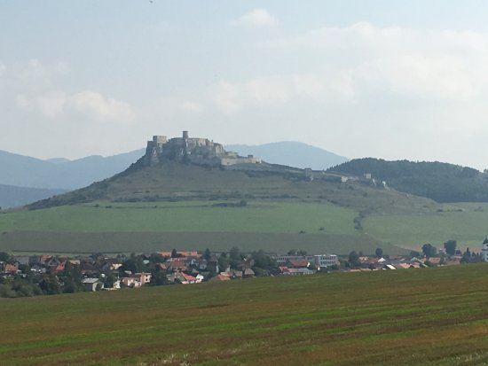 Kosice Region, Slovakia: View of the castle.