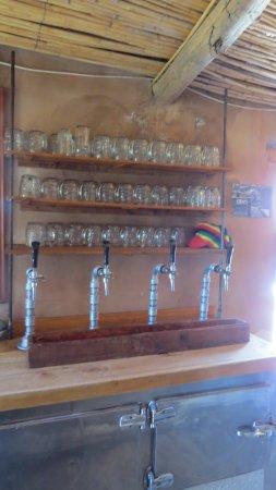 Nieu-Bethesda, Afrika Selatan: Draught beer