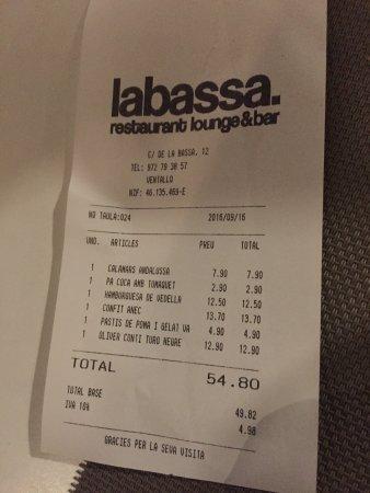 Ventallo, Испания: Calamares rebozados com mayonesa de wasabi.