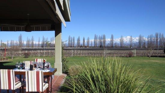 Lujan de Cuyo, Argentina: Varanda
