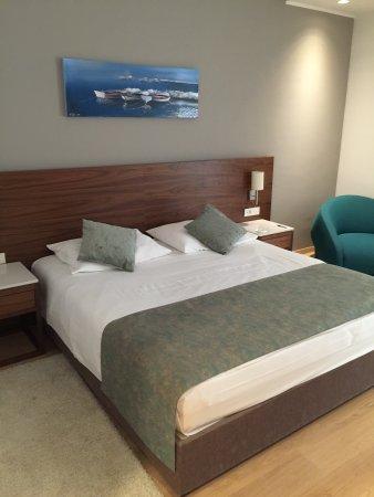 Hotel Korsal: Bett
