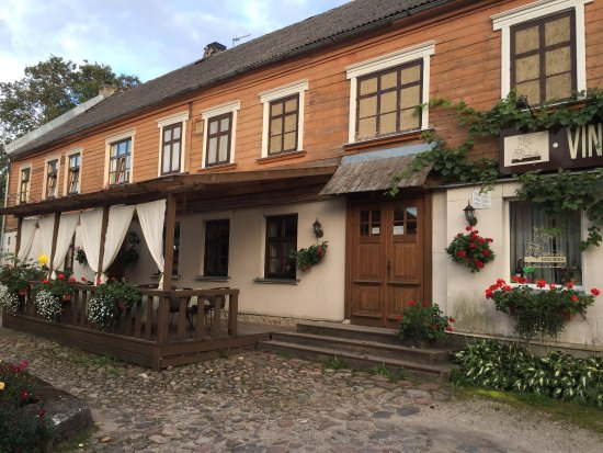 Talsi, Latvia: Comida deliciosa