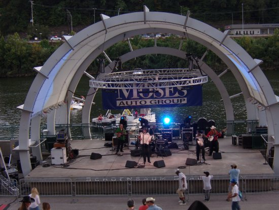 Haddad Riverfront Park: CJ Chenier and his ZydecoBand