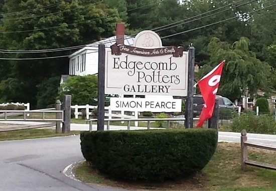 Edgecomb Potters Road Sign
