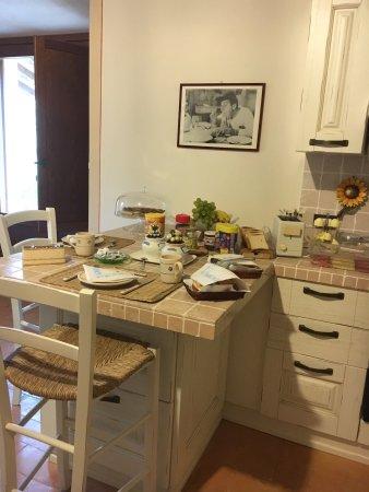 Lugnano in Teverina, อิตาลี: Colazione mattutina,camera