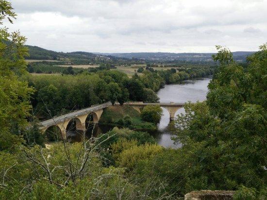 Limeuil, Frankreich: Confluent de la Dordogne et de la Vezère