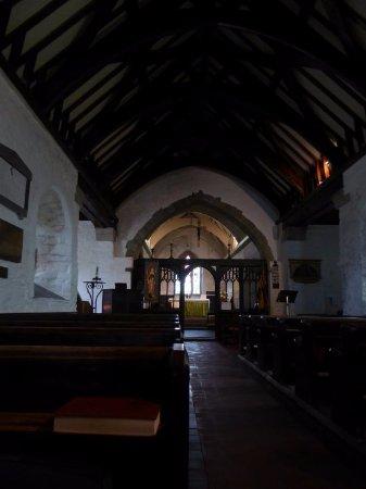 St. Materiana's Church: Das schöne Holzbalken-Dach