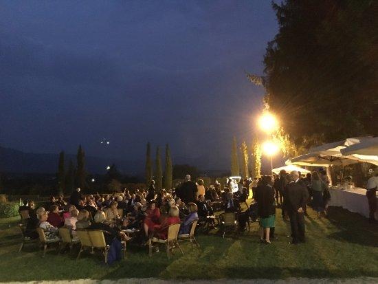 Massa Martana, Italia: il parco durante il ricevuimento