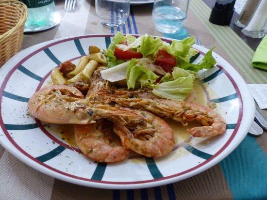 restaurant etorri : Un plat