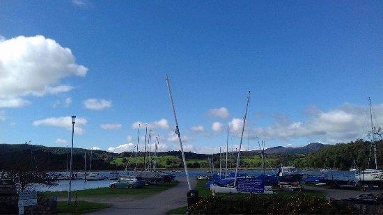 Kippford, UK: Overlooking harbour