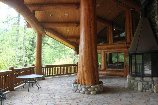Cranbrook, كندا: Lodge Patio