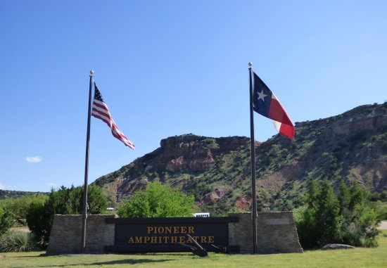 Canyon, TX: Main Entrance