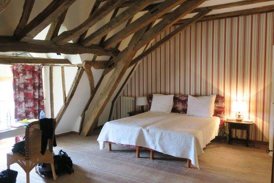 Chateau de la Bourdaisiere: Pavillion room