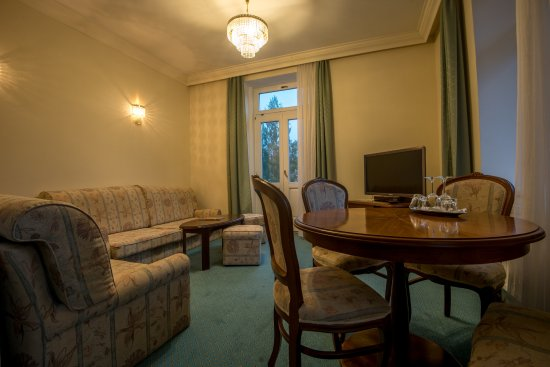 Grandhotel Stary Smokovec: Of course this is not the dorm, the suite contains also this excellent space.